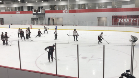As Hurricanes players return, there's a new place to practice to replace aging ice center