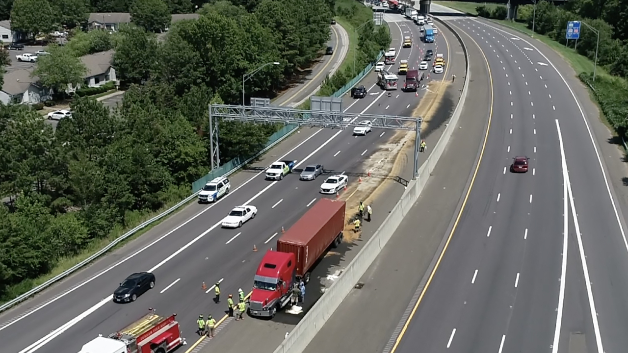 Interstate 85 in Durham is to be avoided by commuters headed