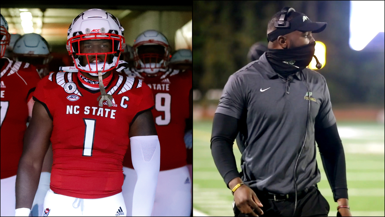 How Wolfpack's Isaiah Moore is learning the coaching ropes at Cardinal Gibbons High