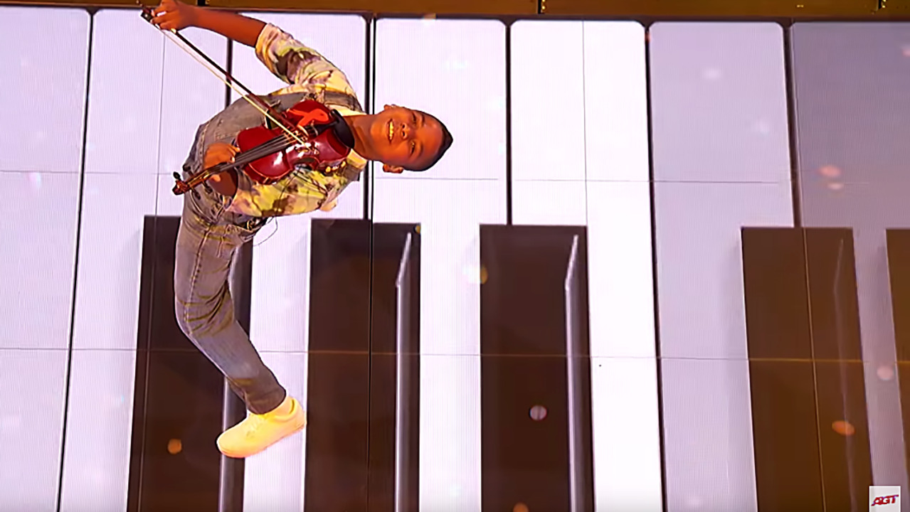 Raleigh's tiny violinist once again impresses 'AGT' judges, but now he needs votes
