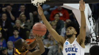 Duke's Marvin Bagley III happy with his first NCAA tournament win