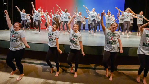 'Dance has saved us.' Wake high school students fight to save dance program from cuts.
