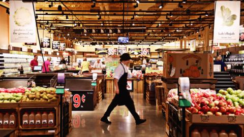 It's about to get real, grocery shoppers. Wegmans opens Sunday, and we looked inside.