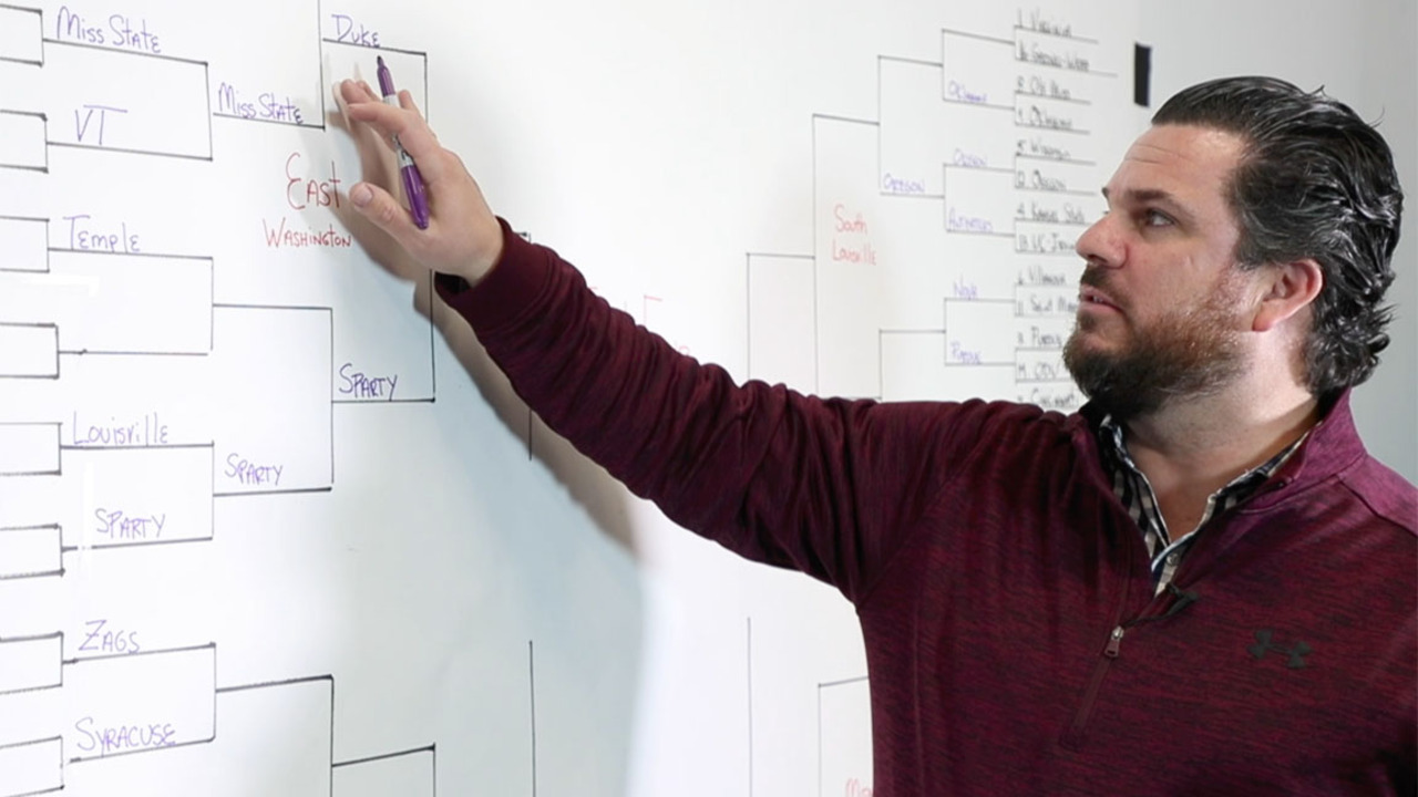 Here is that one perfect NCAA tourney bracket and who 'Center Road' sees winning next