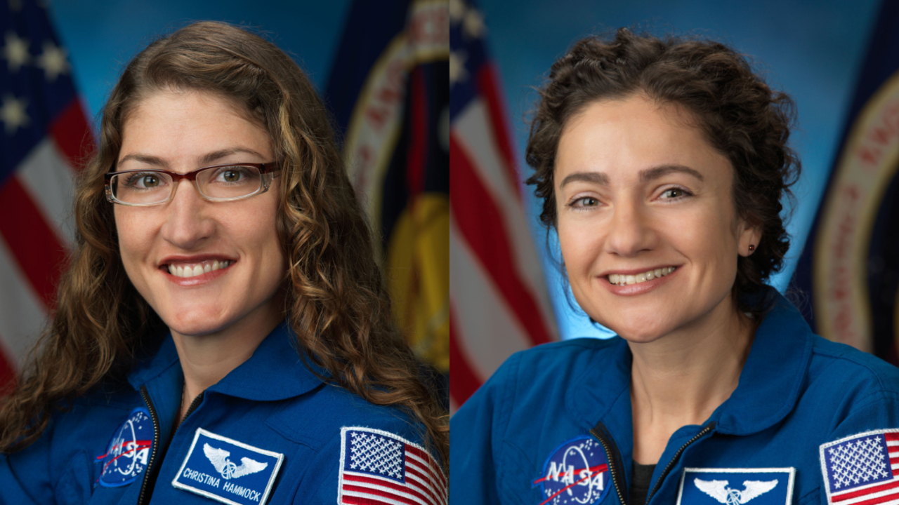 NASA finally finds a spacesuit that fits, so 2 female astronauts get to make history