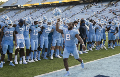 No contest: UNC football runs wild on Wolfpack