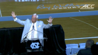 UNC will name Smith Center basketball floor 'Roy Williams Court'