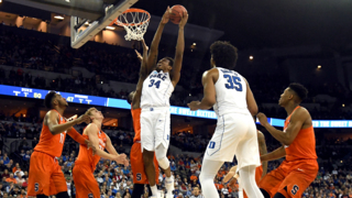Duke's Wendell Carter, Jr. thinks the second half zone defense won the game