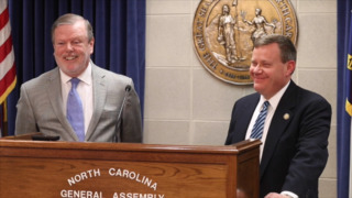 Moore and Berger questioned on the balance of power with Gov. Cooper