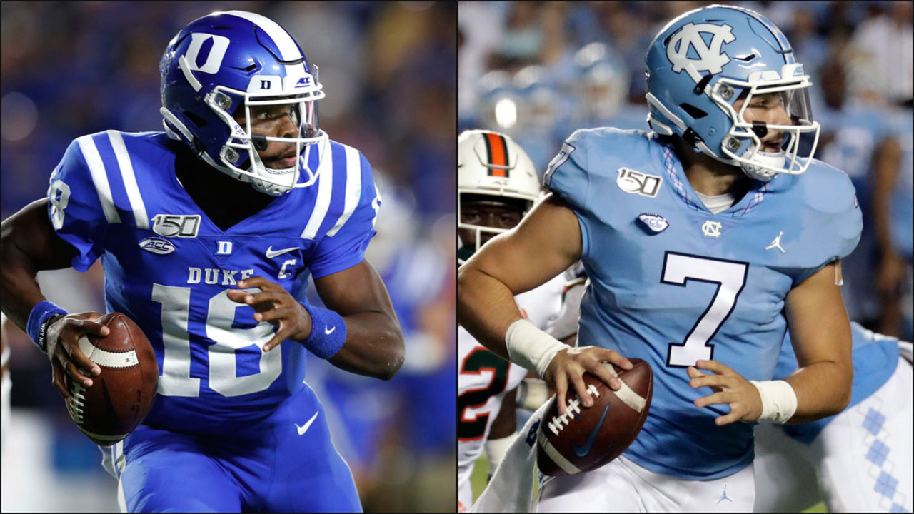 Vote for the most memorable Duke-UNC football game
