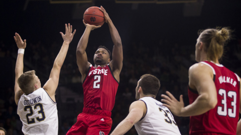 NC State downs Notre Dame on the road