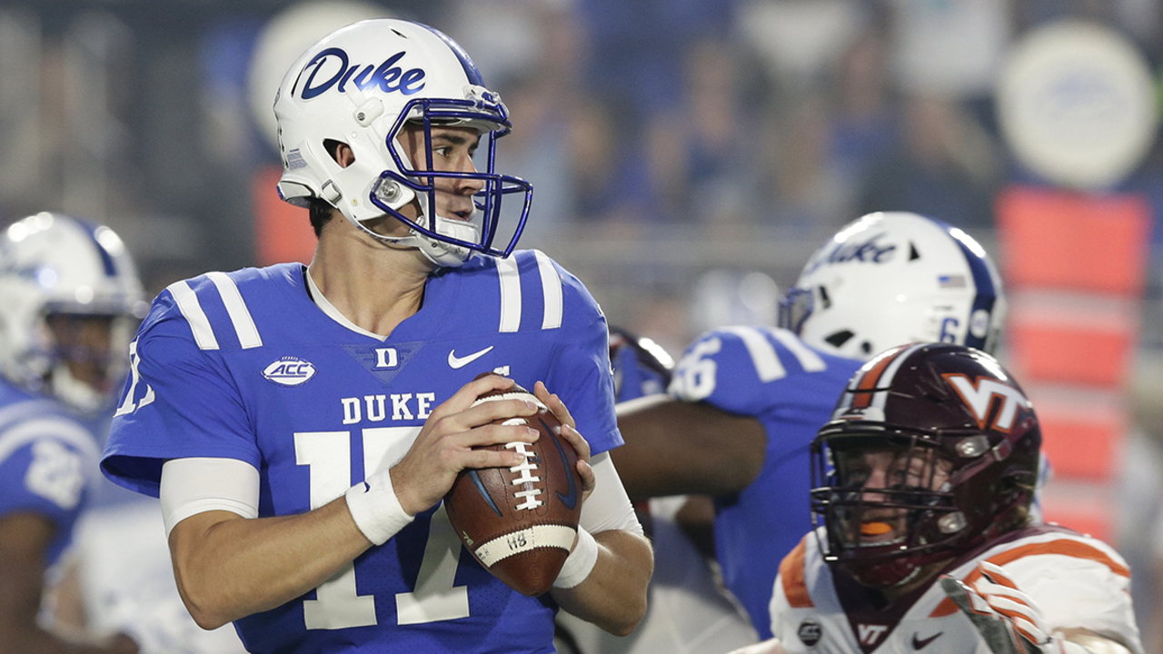 Former Duke QB Daniel Jones gets nod from Giants, will replace Eli Manning as starter