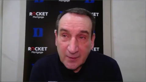 Duke's Coach K wonders if the 'basketball gods are evening things up' after loss to Georgia Tech