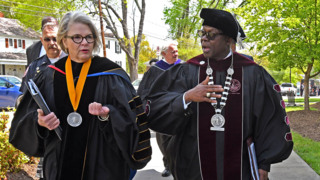 NCCU Chancellor Johnson O. Akinleye is officially sworn in during ceremony on campus