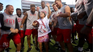 A special day as NC State football hosts Victory Day for individuals with Down syndrome