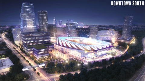 North Carolina FC and Kane Realty reveal $2 billion stadium plan for downtown Raleigh