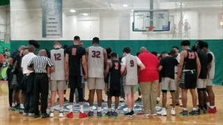 Players and coaches honor memory of Charlotte player who died at Nike Elite Youth Basketball Tournament