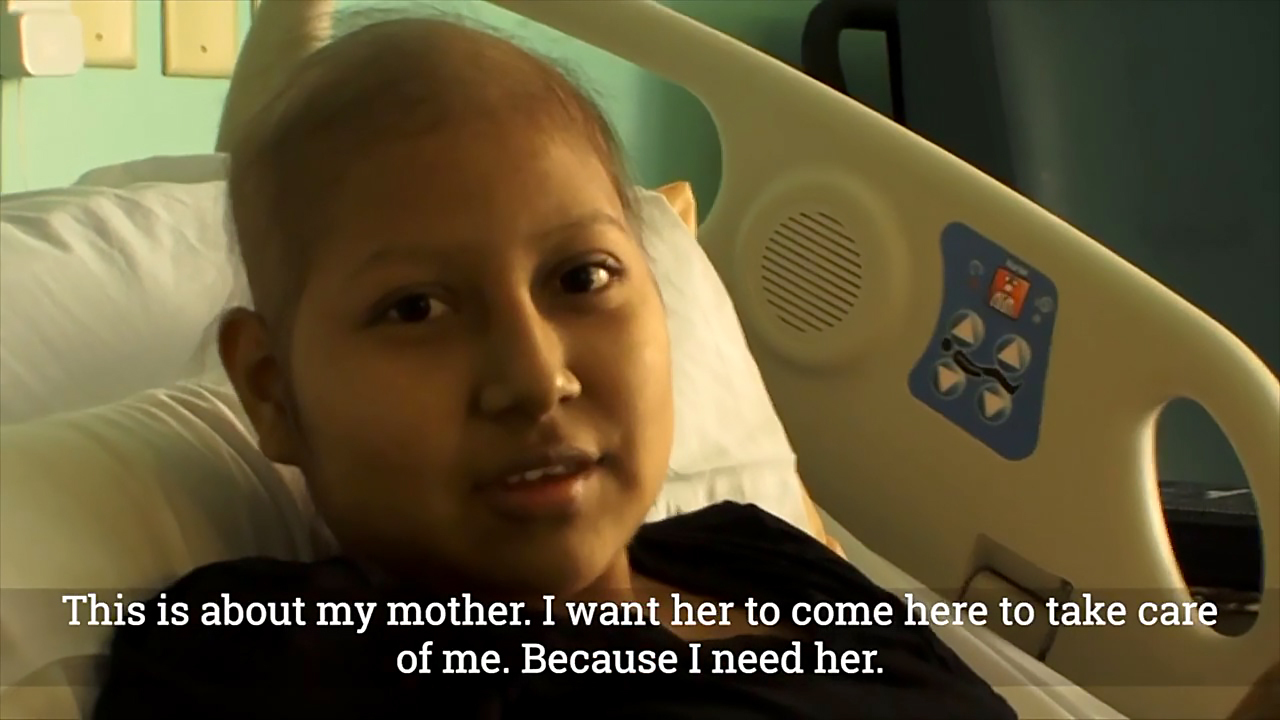 14-year-old fights leukemia alone at Duke because her mom is stuck at the border