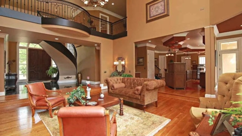 Take a tour of this $2.1 million Wake Forest home by Falls Lake