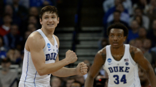 Duke's Grayson Allen on his decision to stay at Duke