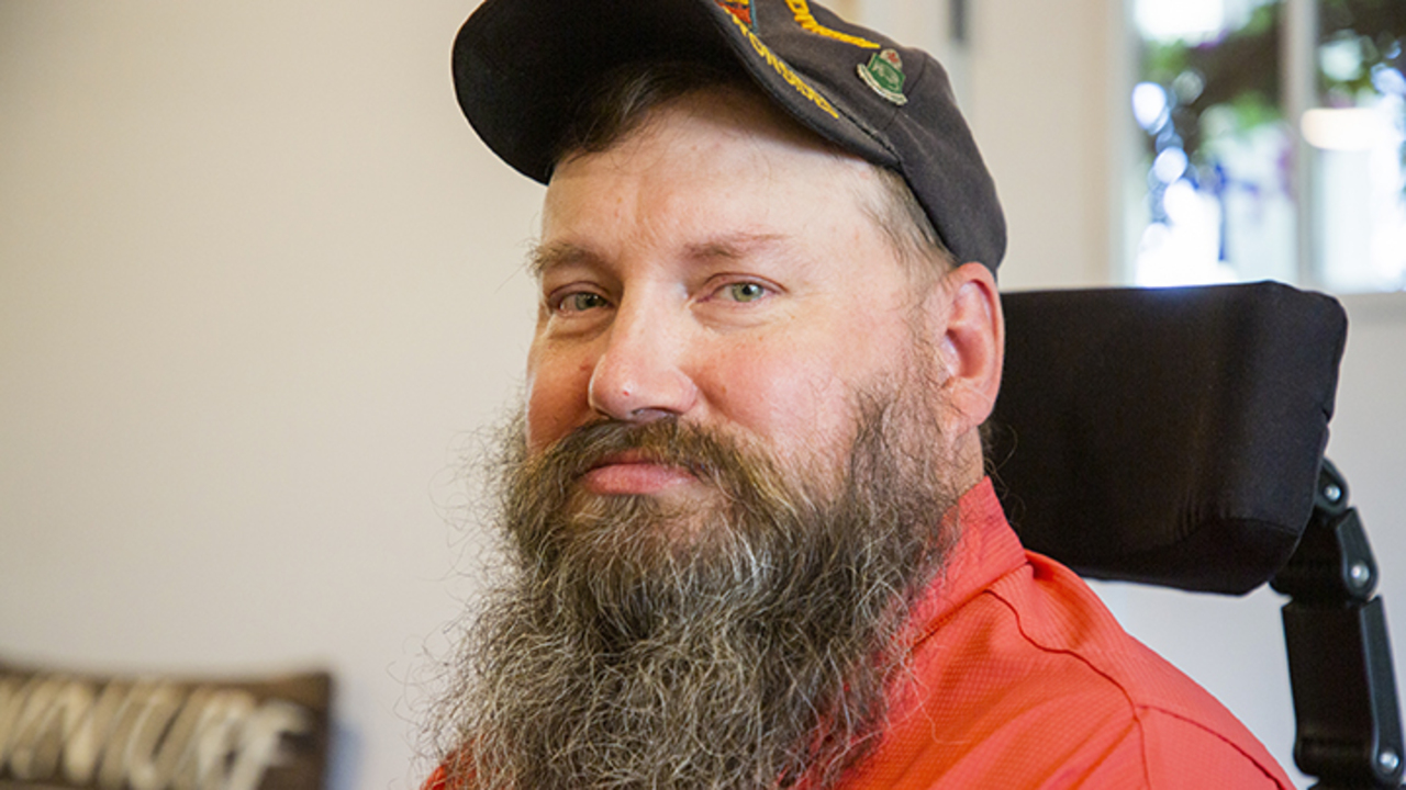 Veteran draws on his own pain to ease others, keep fellow veterans alive