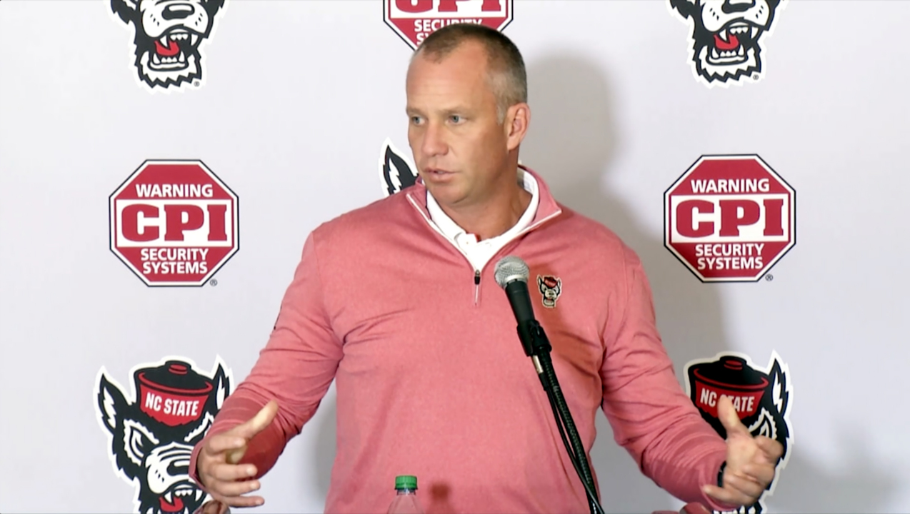 There's only one team NC State coach Dave Doeren is worried about