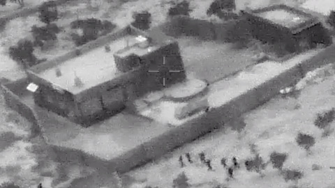 Pentagon releases video of al-Baghdadi raid