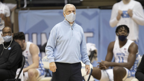 UNC's Roy Williams missing the excitement of fans in the stands during Covid