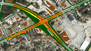 NC DOT rolls out two options for big Garner intersection