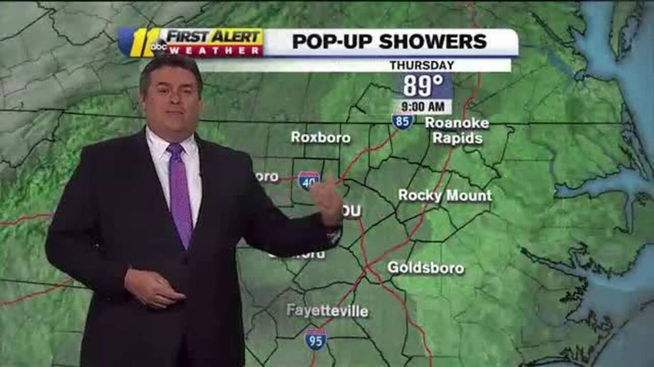 Weather forecast for central and eastern NC | Tacoma News