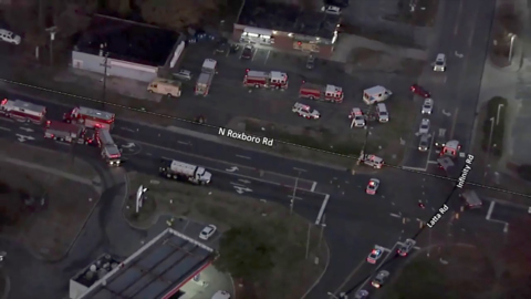 Roxboro Street intersection in North Durham reopens after chemical spill
