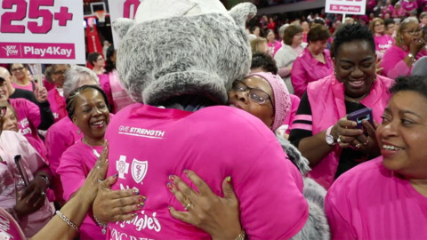 Cancer survivors honored during NC State's annual Play4Kay game