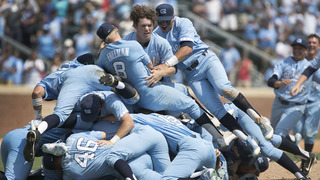 UNC holds on to beat Stetson, advances to 11th College World Series in program history