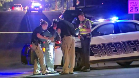Officer shot in drive-by as he investigated an earlier shooting in NC, police say