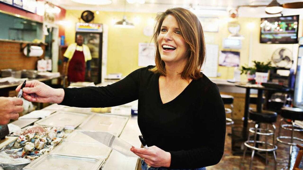 In returning to Kinston, Vivian Howard told the stories of her home -- and found her voice