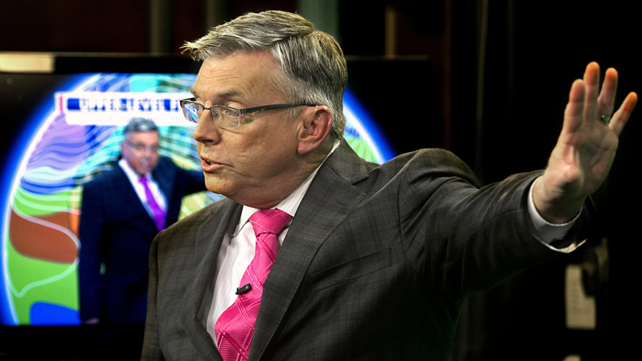 WRAL's Greg Fishel resigns from Raleigh TV chief weather job