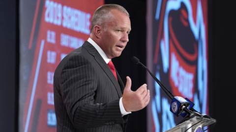 NC State's Dave Doeren on keeping fans in the seats in the second half and alcohol sales
