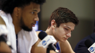 Duke's Grayson Allen and Marvin Bagley III on loss to Kansas: 'It hurts'