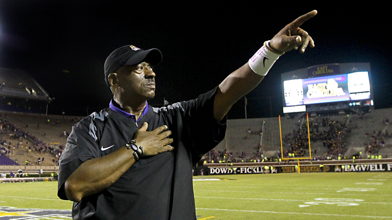ECU football staff working to mend its relationship with former coach Ruffin McNeill