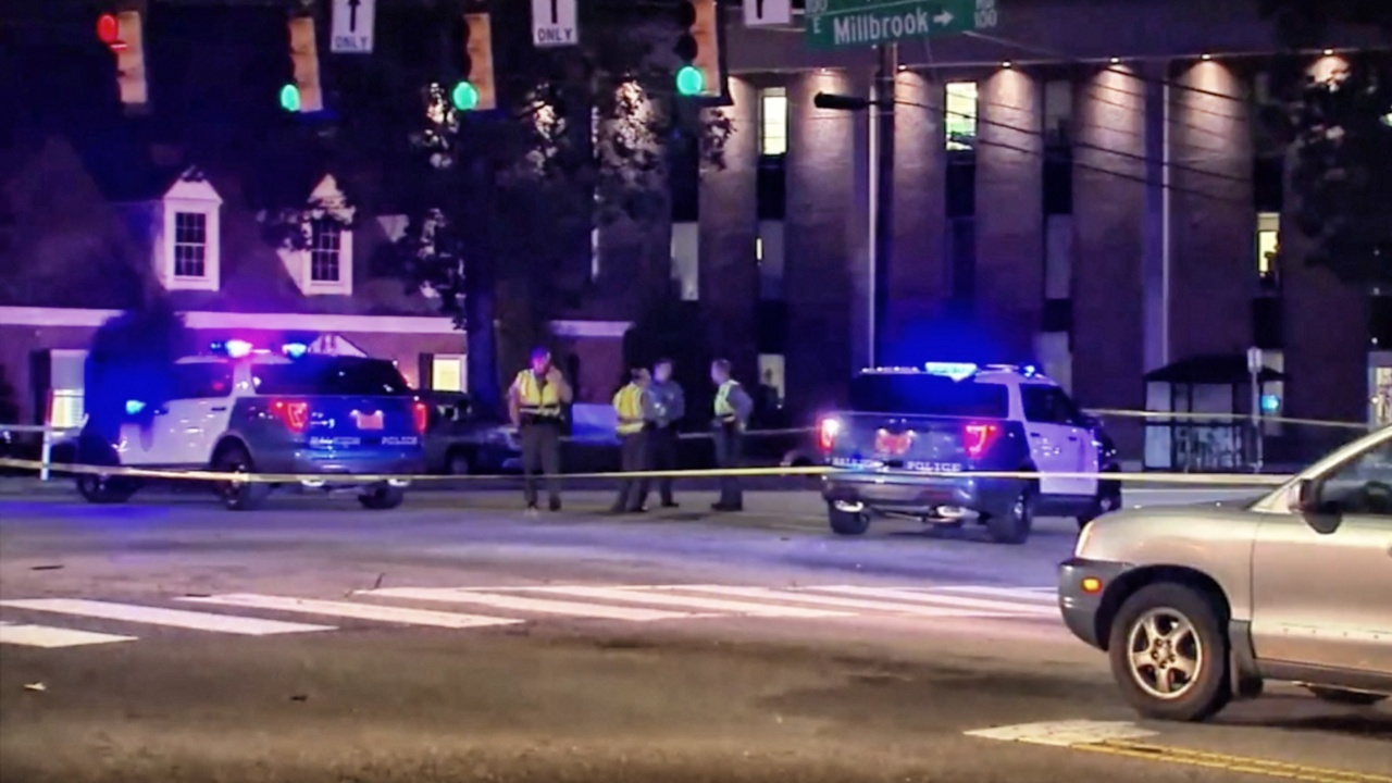 Raleigh police say pedestrian fatally struck, driver in custody