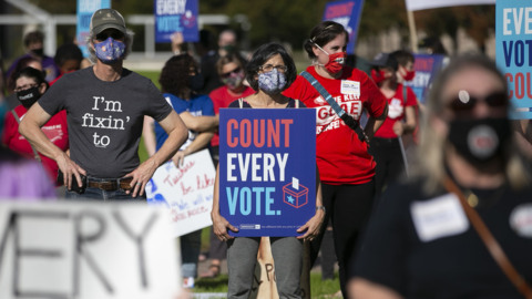 NC experts see hazards ahead as Trump claims a stolen election