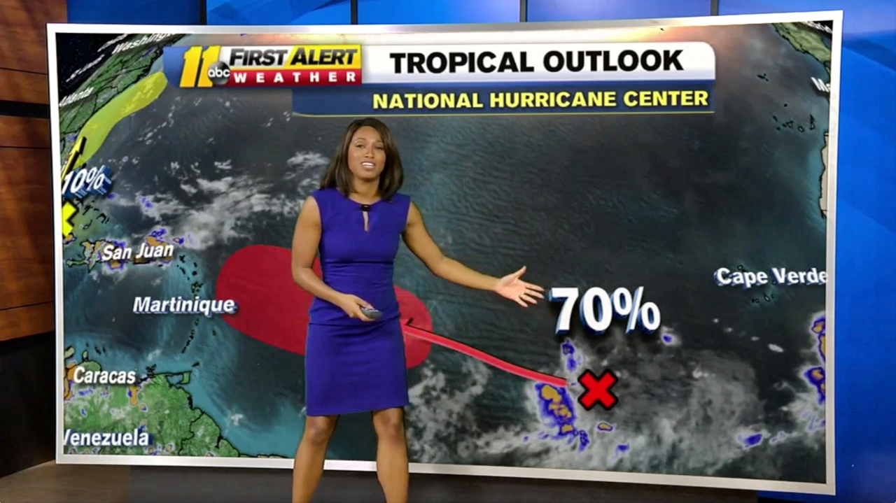 Tropical system could brush Carolina coast, but watch what's