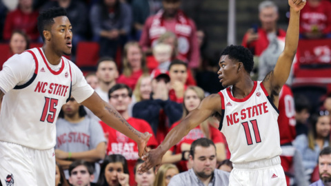 NC State's Keatts talks about the victory over Detroit Mercy