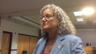 Orange County Commissioner Penny Rich on Confederate flag