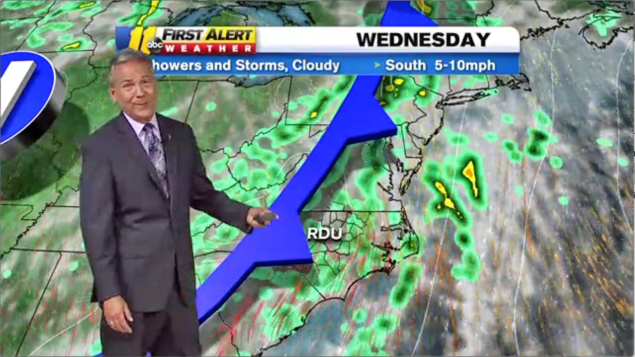 More wet weather ahead for NC in the ABC11 forecast | Durham