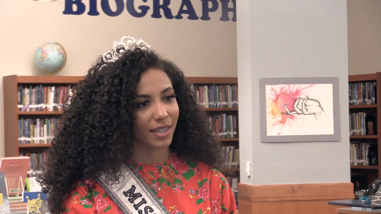 'Know who you are': Miss USA shares advice with Fort Mill students during visit