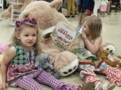 Toddlers don tiaras for tea party with teddy bears, frogs at Rock Hill festival