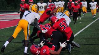 Nation Ford Falcons overcome an evening of fumbles