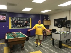 Take a tour of the Northwestern Trojans' new football players' lounge