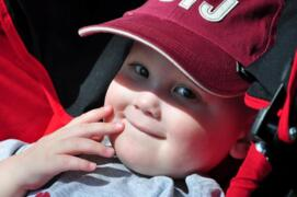 Fort Mill mom honors son, 3, who died of cancer by giving back to hospital
